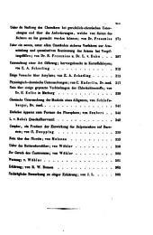 Justus Liebig's Annalen der Chemie: Bände 49-50