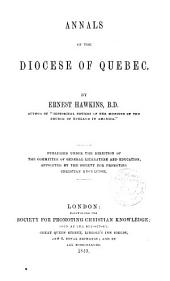 Annals of the Diocese of Quebec