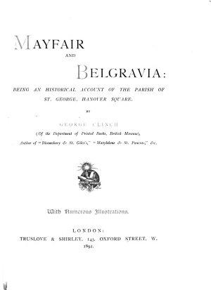 Mayfair and Belgravia