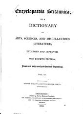 Encyclopaedia Britannica, Or a Dictionary of Arts, Sciences, and Miscellaneous Literature: Volume 9