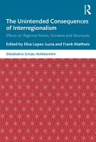 The Unintended Consequences of Interregionalism PDF