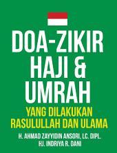 Doa-Zikir Haji & Umrah