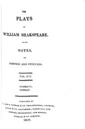 The Plays of William Shakespeare ...: With the Corrections and Illustrations of Various Commentators, Volume 16