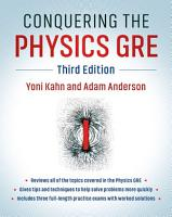 Conquering the Physics GRE PDF