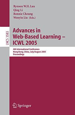 Advances in Web Based Learning   ICWL 2005 PDF