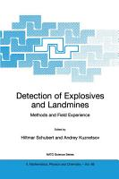 Detection of Explosives and Landmines PDF