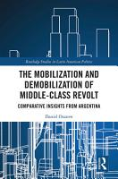 The Mobilization and Demobilization of Middle Class Revolt PDF