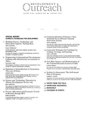 Development Outreach PDF