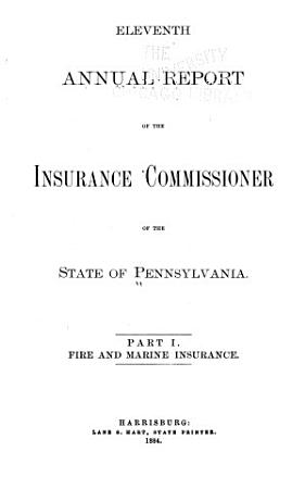 Report of the Insurance Commissioner PDF