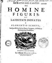 Renatus Des Cartes De Homine figuris, et latinitate donatus a Florentino Schuyl