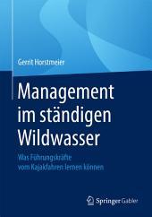 Management im ständigen Wildwasser: Was Führungskräfte vom Kajakfahren lernen können