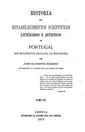 Historia dos estabelecimentos scientificos: 1834-1853
