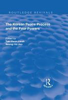 The Korean Peace Process and the Four Powers PDF