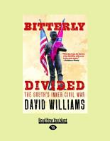Bitterly Divided PDF