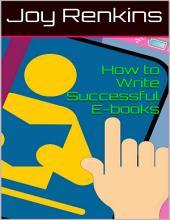 How to Write Successful E-books