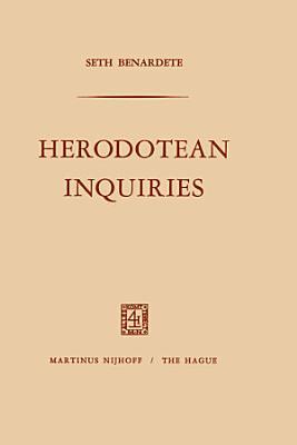 Herodotean Inquiries