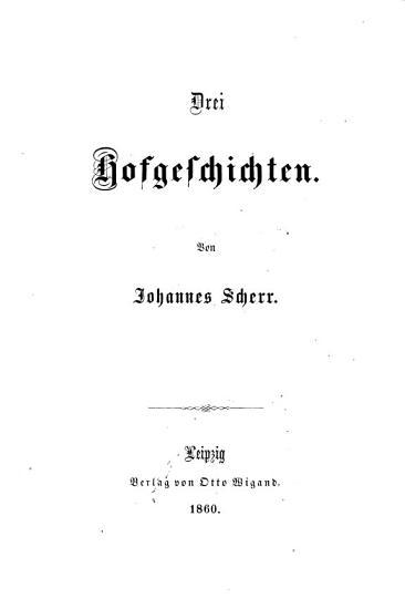 Drei Hofgeschichten PDF