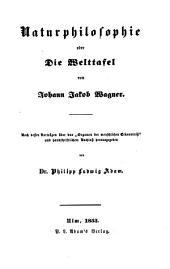 Nachgelassene Schriften über Philosophie: Naturphilosophie, Band 3
