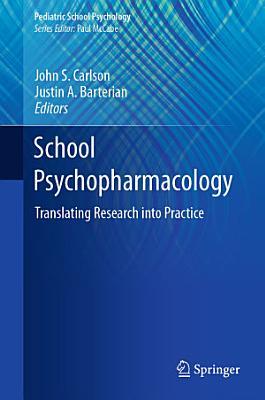 School Psychopharmacology PDF