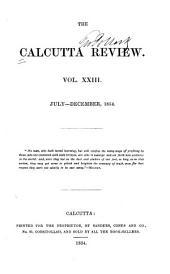 The Calcutta Review: Volume 23