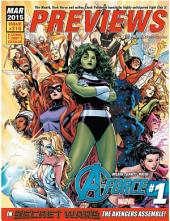 Previews March 2015: Issue 318