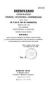 Dizionario geografico-storico-statistico-commerciale degli stati di S. M. il re di Sardegna