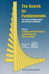 The Search for Fundamentals: The Process of Modernisation and the Quest for Meaning