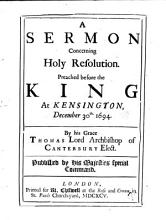 Sermons on the Death of Queen Mary  and Other Subjects PDF