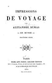 Impressions de voyage: Volumes3à4