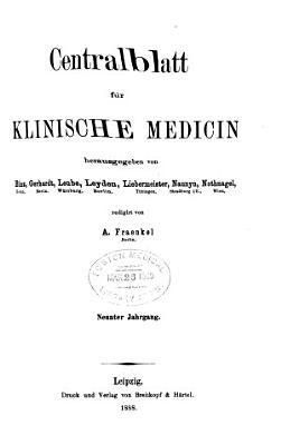 Zentralblatt f  r klinische Medizin PDF