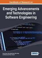Handbook of Research on Emerging Advancements and Technologies in Software Engineering PDF