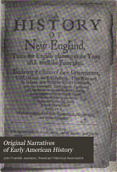 Original Narratives of Early American History: Volume 9; Volume 15