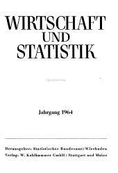 Wirtschaft und Statistik PDF
