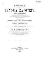 Gramática de la lengua zapoteca