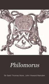 Philomorus: A Brief Examination of the Latin Poems of Sir Thomas More