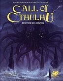 Call of Cthulhu Rpg Keeper Rulebook PDF