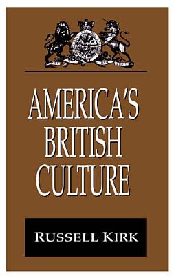 America s British Culture PDF