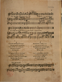 Charlie is My Darling  a Favorite Scotch Song Arranged for Piano forte