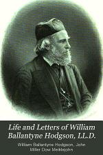 Life and Letters of William Ballantyne Hodgson, LL.D.