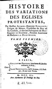 Histoire des variations des eglises protestantes