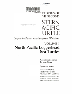 Proceedings of the Second Western Pacific Sea Turtle Cooperative Research & Management Workshop