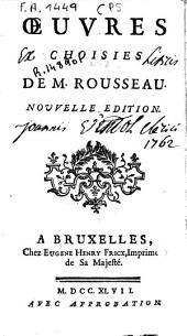 Oeuvres choisies de M. Rousseau