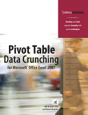 Pivot Table Data Crunching for Microsoft Office Excel 2007 PDF