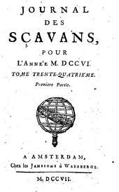 Journal des sçavans: 1706 (1707), 1