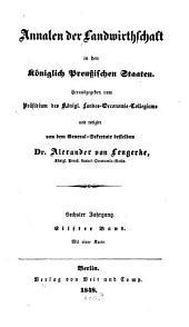 Annalen der Landwirthschaft in den Königlich Preußischen Staaten: Band 11