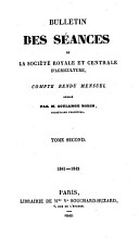 Bulletin des S  ances  Compte Rendu Mensuel PDF