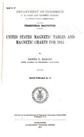 U.S. Magnetic Tables and Magnetic Charts