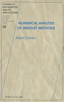 Numerical Analysis of Wavelet Methods PDF