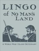 Lingo of No Man s Land PDF