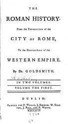 The Roman History From The Foundation Of The City Of Rome To The Destruction Of The Western Empire Book PDF